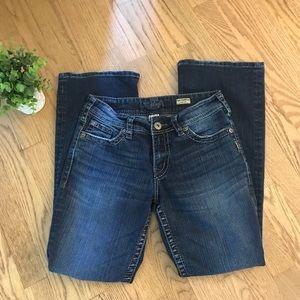SILVER Jeans Suki Surplus Bootleg W28 L30
